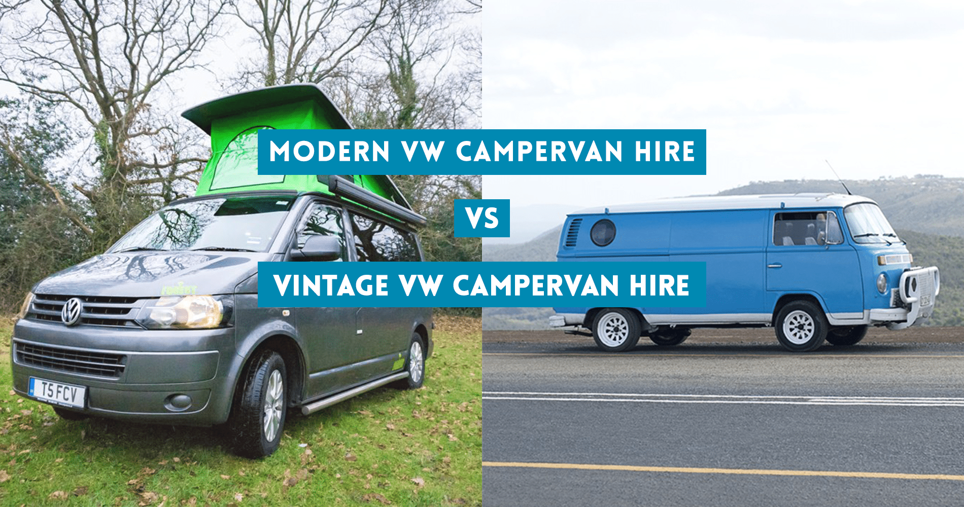 Modern Vw Campervan Hire V2