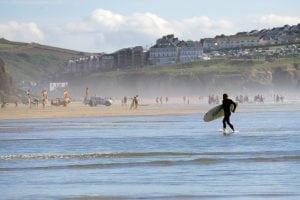 surfing campervan holiday