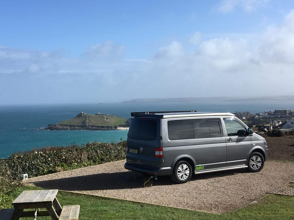 Campervan Road Trip in the South of England