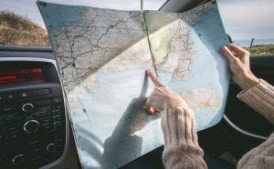 uk road trip ideas in a campervan